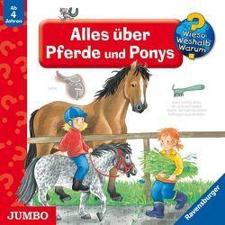 Alles über Pferde und Ponys von Libbach,  Gabriele, Stephan,  Bernd