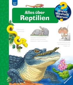 Alles über Reptilien von Ebert,  Anne, Mennen,  Patricia