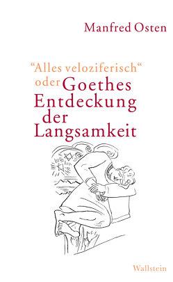 """""""Alles veloziferisch"""" oder Goethes Entdeckung der Langsamkeit von Osten,  Manfred"""