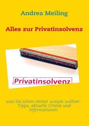 Alles zur Privatinsolvenz von Meiling,  Andrea