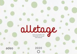 alletage 2020 – Hand- und Wandkalender von Schneider,  Cathrin