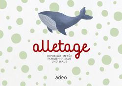 alletage – Postkartenbox von Schneider,  Cathrin