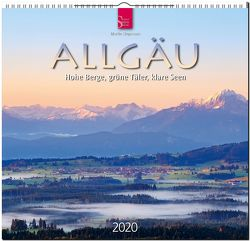 Allgäu – Hohe Berge, grüne Täler, klare Seen von Siepmann,  Martin