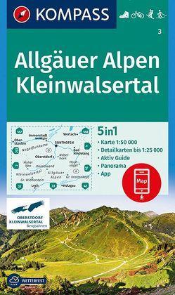 Allgäuer Alpen, Kleinwalsertal von KOMPASS-Karten GmbH