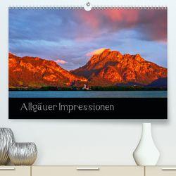 Allgäuer Impressionen (Premium, hochwertiger DIN A2 Wandkalender 2020, Kunstdruck in Hochglanz) von Wolff,  Gerd
