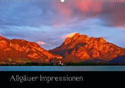 Allgäuer Impressionen (Wandkalender 2020 DIN A2 quer) von Wolff,  Gerd