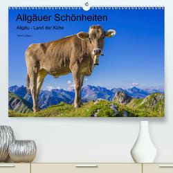 Allgäuer Schönheiten Allgäu – Land der Kühe (Premium, hochwertiger DIN A2 Wandkalender 2020, Kunstdruck in Hochglanz) von G. Allgöwer,  Walter