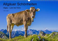 Allgäuer Schönheiten Allgäu – Land der Kühe (Wandkalender 2020 DIN A3 quer) von G. Allgöwer,  Walter