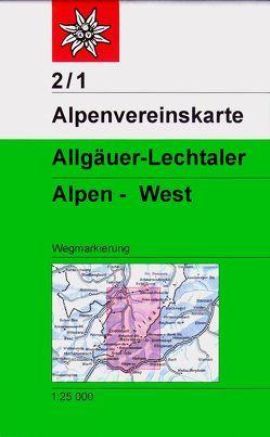 Allgäuer-Lechtaler-Alpen – West von Deutscher Alpenverein e.V.