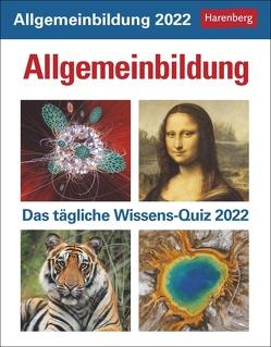 Allgemeinbildung Kalender 2022 von Budde,  Berthold, Harenberg