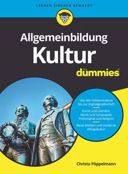 Allgemeinbildung Kultur für Dummies von Pöppelmann,  Christa