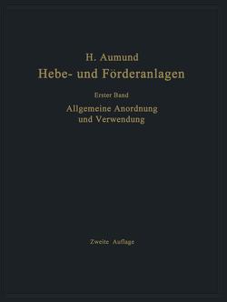 Allgemeine Anordnung und Verwendung von Aumund,  Heinrich