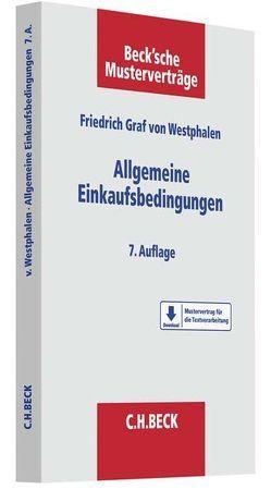 Allgemeine Einkaufsbedingungen von Westphalen,  Friedrich