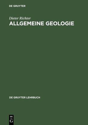 Allgemeine Geologie von Richter,  Dieter