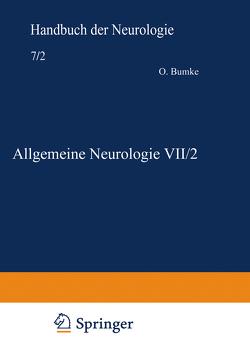 Allgemeine Neurologie VII/2 von Förster,  E., Guttmann,  Ludwig, Neisser,  E., Stenvers,  H.W.