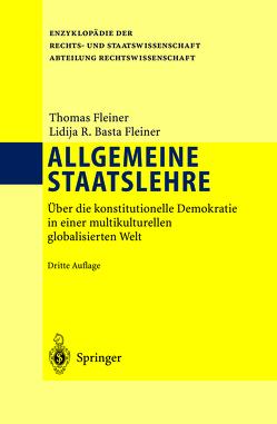 Allgemeine Staatslehre von Basta-Fleiner,  Lidija, Fleiner,  Thomas