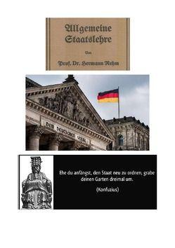 Allgemeine Staatslehre von Prof. Dr. Hermann Rehm von Frühwald,  Peter