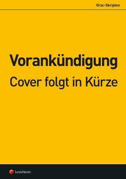 Allgemeines Verwaltungsrecht von Fürst,  Susanne, Takacs,  Oskar