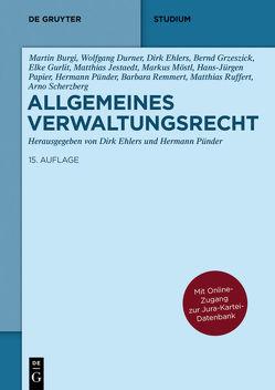 Allgemeines Verwaltungsrecht von Ehlers,  Dirk, Pünder,  Hermann