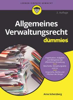 Allgemeines Verwaltungsrecht für Dummies von Scherzberg,  Arno