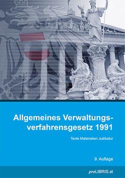 Allgemeines Verwaltungsverfahrensgesetz 1991 von proLIBRIS VerlagsgesmbH