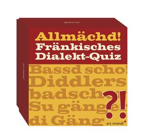 Allmächd! Fränkisches Dialekt-Quiz (Neuauflage)