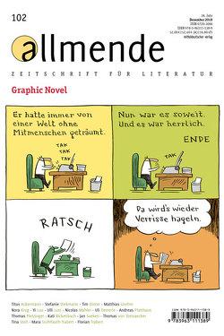 allmende 102 von Literarische Gesellschaft Karlsruhe, Schmidt-Bergmann,  Hansgeorg, Waltz,  Matthias