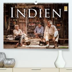 Alltag in Indien (Premium, hochwertiger DIN A2 Wandkalender 2021, Kunstdruck in Hochglanz) von Benninghofen,  Jens