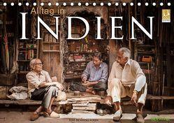 Alltag in Indien (Tischkalender 2019 DIN A5 quer) von Benninghofen,  Jens