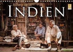 Alltag in Indien (Wandkalender 2018 DIN A4 quer) von Benninghofen,  Jens
