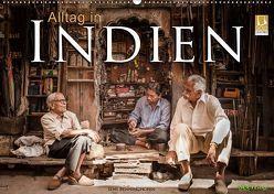 Alltag in Indien (Wandkalender 2019 DIN A2 quer) von Benninghofen,  Jens