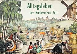 Alltagsleben der Biedermeier-Zeit (Wandkalender 2020 DIN A2 quer) von Galle,  Jost
