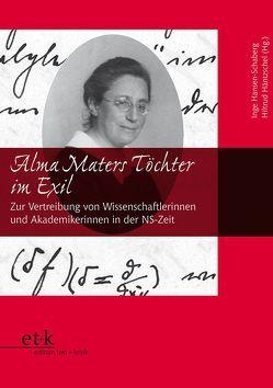 Alma Maters Töchter im Exil von Hansen-Schaberg,  Inge, Häntzschel,  Hiltrud