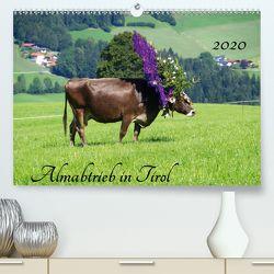 Almabtrieb in Tirol (Premium, hochwertiger DIN A2 Wandkalender 2020, Kunstdruck in Hochglanz) von Seidel,  Thilo