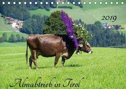 Almabtrieb in Tirol (Tischkalender 2019 DIN A5 quer)