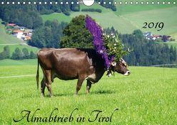 Almabtrieb in Tirol (Wandkalender 2019 DIN A4 quer)
