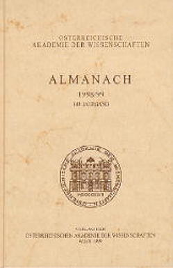 Almanach der Akademie der Wissenschaften / 147. Jahrgang