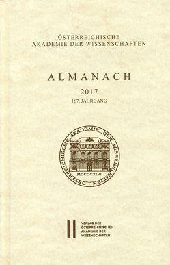 Almanach der Akademie der Wissenschaften / Almanach 167. Jahrgang 2017