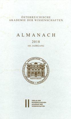 Almanach der Akademie der Wissenschaften / Almanach 168. Jahrgang 2018