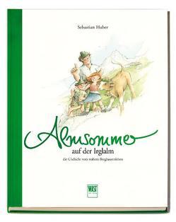 Almsommer (auf der Irglalm) von Huber,  Sebastian