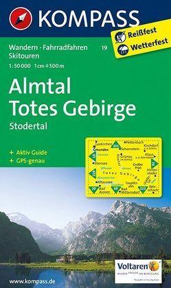 Almtal – Totes Gebirge – Stodertal von KOMPASS-Karten GmbH