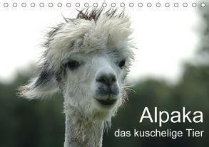 Alpaka, das kuschelige Tier (Tischkalender 2018 DIN A5 quer) von Brömstrup,  Peter