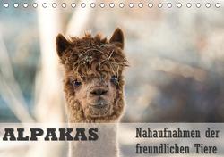 Alpakas Nahaufnahmen der freundlichen Tiere (Tischkalender 2020 DIN A5 quer) von Mentil,  Bianca
