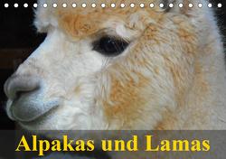Alpakas und Lamas (Tischkalender 2021 DIN A5 quer) von Stanzer,  Elisabeth