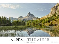 Alpen 2020 – The Alps – Bildkalender XXL (64 x 48) – Landschaftskalender – Naturkalender – Wandkalender – Österreich – Schweiz von ALPHA EDITION, Mirau,  Rainer