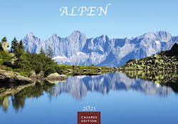 Alpen 2021 L 50x35cm