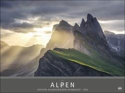 Alpen – Edition Alexander von Humboldt Kalender 2022 von Heye