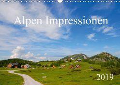 Alpen Impressionen (Wandkalender 2019 DIN A3 quer) von Jähne,  Karin