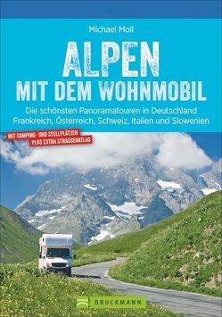 Alpen mit dem Wohnmobil von Moll,  Michael