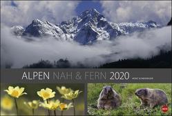 Alpen nah und fern Edition Kalender 2020 von Heye, Schmidbauer,  Heinz